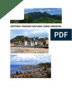 Guía Turística Oriente Asturias