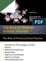 The Role of Primary School Teacher
