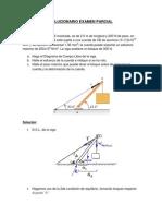 Solucionario Examen Parcial de Fisica II