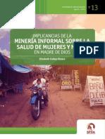 Estudio Sobre La Minería Ilegal y Su Implicancia en La Salud de Madre de Dios