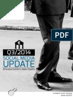 Social Media Update Q3/2014 - deutsche Banken und Finanzinstitute auf Facebook