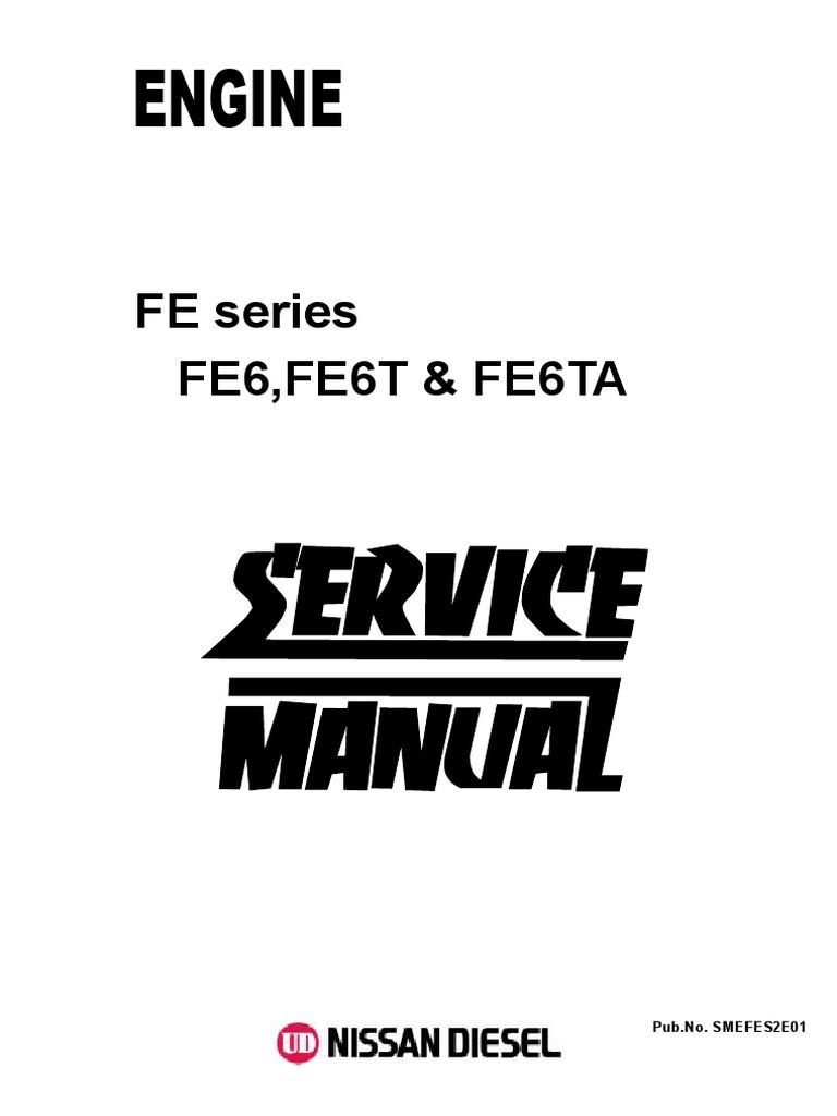 nissan ud 1800 wiring diagram servic d r motor nissan fe6 fe6t fe6ta motor oil diesel engine  servic d r motor nissan fe6 fe6t fe6ta