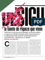 Desigualdad, La Fuente de Riqueza Que Viene - Rodrigo Lara Serrano América Económica Oct 2013