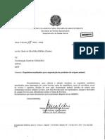 Memo Circular DSA Nº 15 de 28 01 13-Requisitos Atualizados Para Importação de Produtos de Origem Animal-Todos SSAsSISAsSIFIS