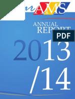 AMS Annual Report, 2013-2014