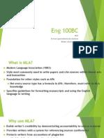 HybridEng100 MLA Parentheticals WorksCitedActivity