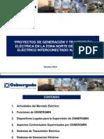 1. Proyectos de Generacion y Transmision Electrica