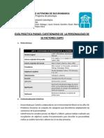 Guía Del 16PF-5