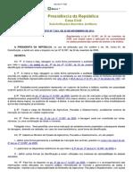5-Dec 7623 de 2011 - Regulamenta a Lei 12.097 de 2009 Sobre Aplicação Da Rastreabilidade Carnes Bovnios e Búfalos