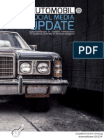 Social Media Update Q3/2014 - Automobilbauer auf Facebook