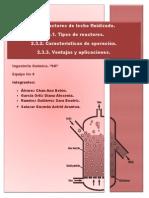 2.3 Reactores de Lecho Fluidizado.