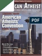American Atheist Magazine July 2007