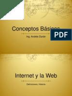 Conceptos Web básicos