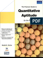 The Pearson Guide to Quantitative Aptitude for CAT 2e