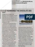 'Rearranging the chocolate box' Letter on the Lakes in Countryfile Magazine