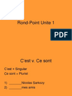 Rond-Point Unite 1 Powerpoint