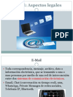 Ingenieria Legal, Email
