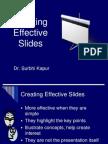 Creating Effective Slides
