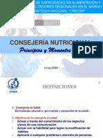 Consejeria Nutricional