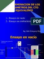 Tema 8 Determinacion Parametros Cto Equiv. Transf. Monofasico