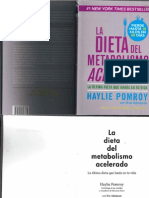 dieta del metabolismo acelerado pdf