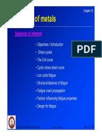 Fatigue of Metals