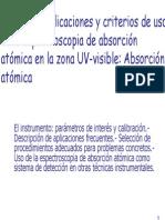 Cap. 6 Espectroscopia atómica