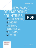 The new wave of emerging countries