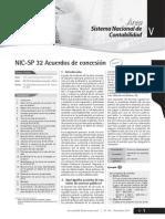 Acuerdos de Concesion NICSP 32