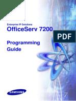 Officeserv 7200 Programming Guide