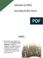 Intro to WW1 - Lesson 1