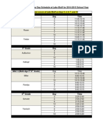 Blog Lake Bluff Regular Spanish Schedule 2014-2015 School Year