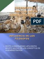 Tema No.01-1 Antecedentes Historicos de La Administracion