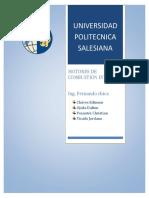 INFORME 2 - Calculos de Cilindrada y Medicion de Angulos