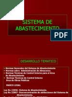Sistema de Abastecimiento GUBERNAMENTAL 2