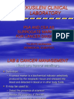 Talents_psa and Cea as Surrogate Markers for Cancer Diagnosis