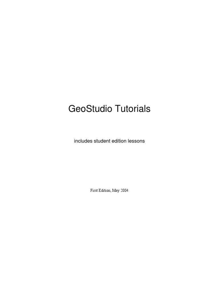 geostudio 2016 download crackeado
