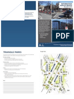 Information Display Booth Brochure for the Pennsylvania and Potomac Avenues SE Intersection Pedestrian Improvement Project
