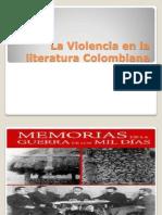 La Violencia en La Literatura Colombiana