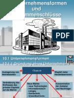 Deutsche Unternehmensformen