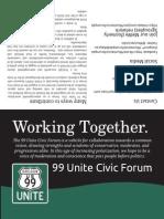 99 Unite Civic Forum brochure (version Nov. 5, 2014-color)