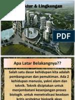 Arsitektur Lingkungan