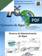 Consumo de Agua. Carlos Eduardo