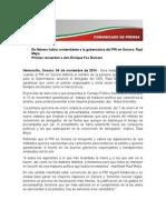 04-11-14 Priistas Recuerdan a Don Enrique Fox Romero