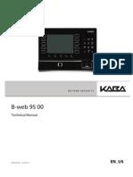 B-web9500 Technical Manual 01 2013 en Us