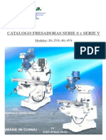 Micfa Sa Fresadoras Catalogo Fresadoras Serie s y v 837057