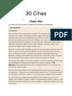30 Cities