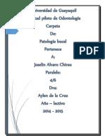 Patología Bucal