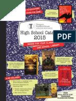 Random House 2015 High School Catalog