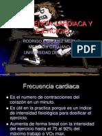 Frecuencia cardiaca y Ejercicio